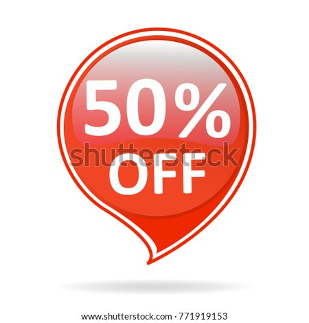 Sale tag isolated offer price