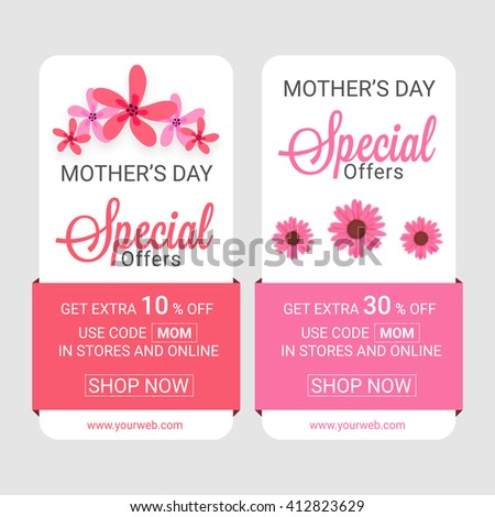 sale web banners  special offer