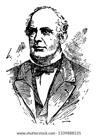 Salmon Portland Chase 1808 to 1873 he was an American politician sixth chief justice of the United States and governor of Ohio and United States secretary of the Treasury vintage