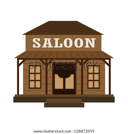 saloon flat icon
