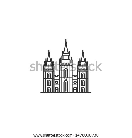 salt lake temple icon lds