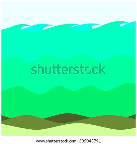 salty waters swamp background