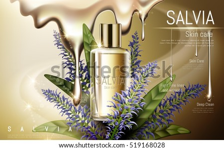 salvia skin care contained in