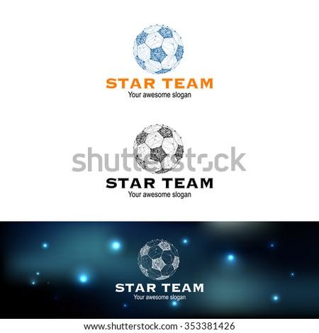 sample of football team logo