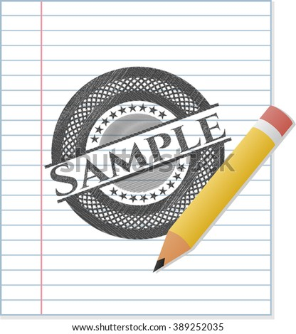 Sample pencil draw