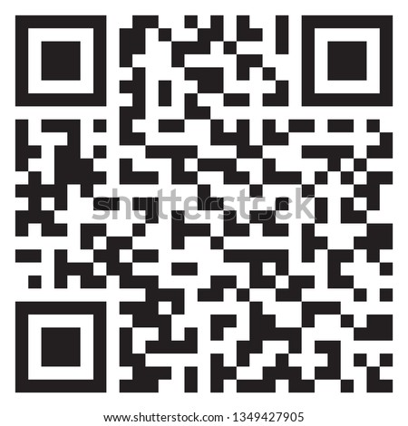 Sample QR code icon