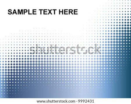 Sample Text Here dots background