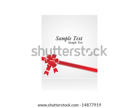 Sample Text Wallpaper Sample Text With Red Bow