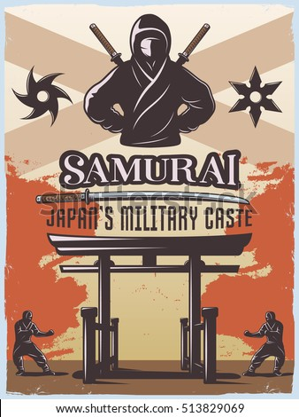 samurai japan military style