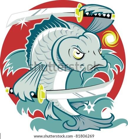 samurai koi fish