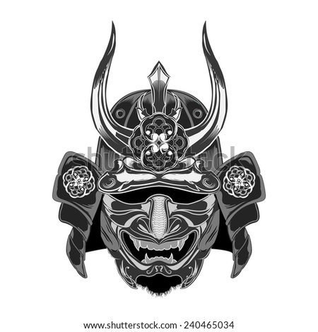 samurai warrior mask