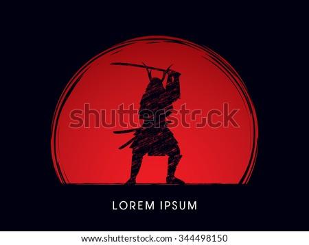 samurai warrior with sword