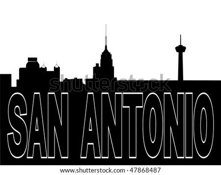 new york skyline silhouette. skyline black silhouette