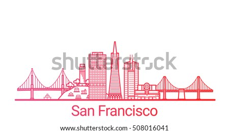 san francisco city colored