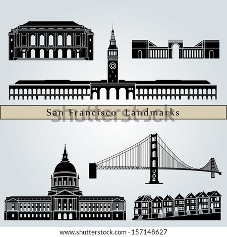 san francisco landmarks and