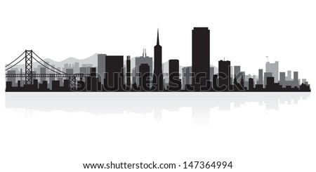 san francisco usa city skyline