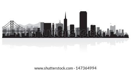 san francisco usa city skyline