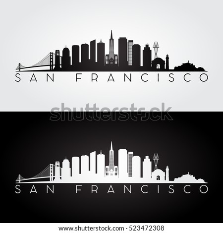san francisco usa skyline and