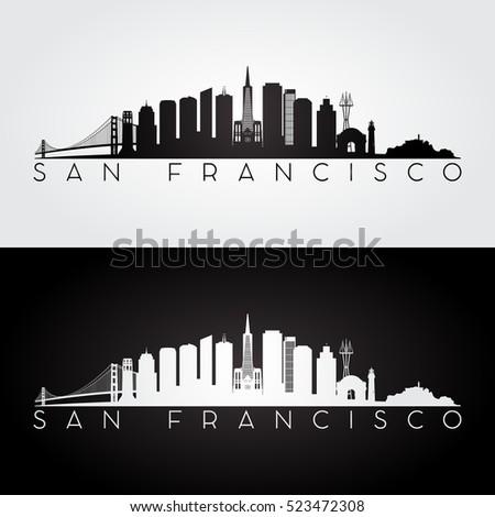 san francisco usa skyline and