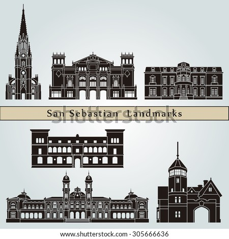 san sebastian landmarks and