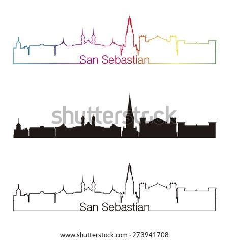 san sebastian skyline linear