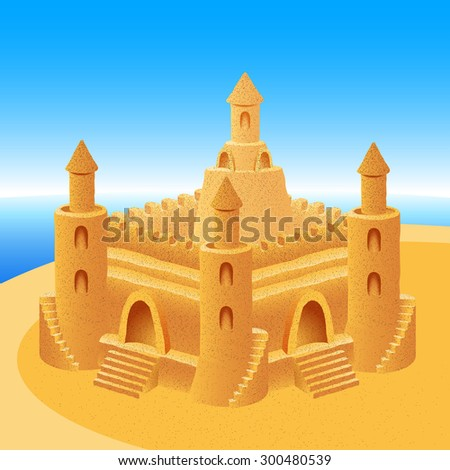sand castle  eps8