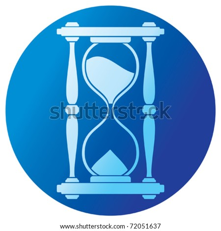 sand clock (hourglass)