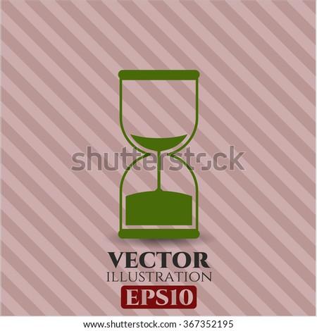 Sand Clock icon or symbol
