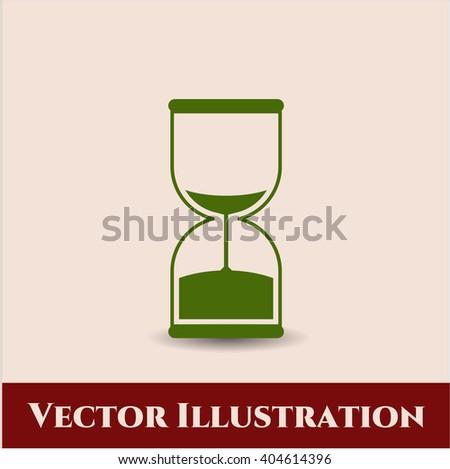 Sand Clock icon vector illustration
