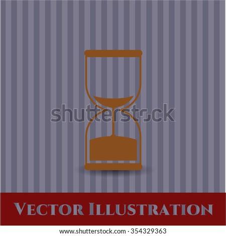 Sand Clock vector icon