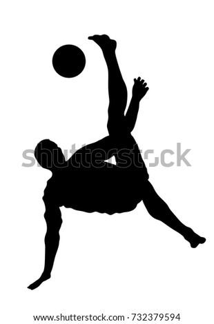 sand soccer player vector