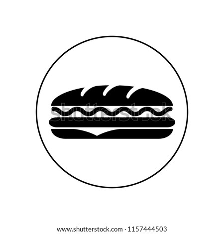 Sandwich icons. Vector, logo