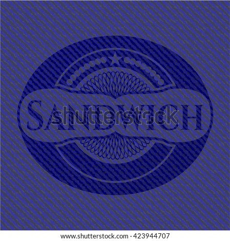 Sandwich jean background