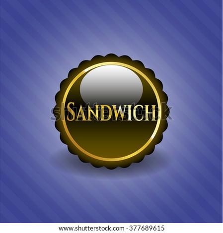 Sandwich shiny emblem