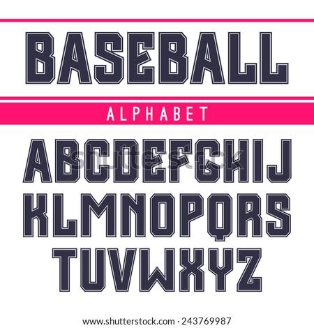 sanserif font in the sport