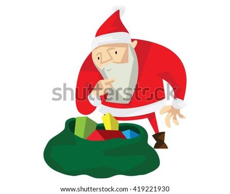 santa claus character   the
