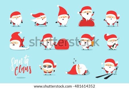 santa claus collection of