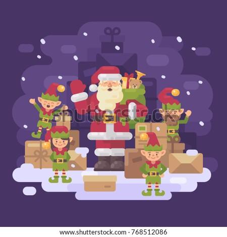 santa claus delivery service