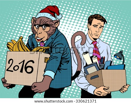 santa claus monkey 2016 new...
