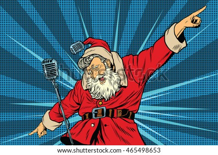 santa claus superstar singer on