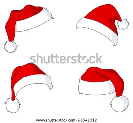 santa hats vector download free vector art stock graphics images rh vecteezy com