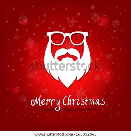 santa's mustaches  beard