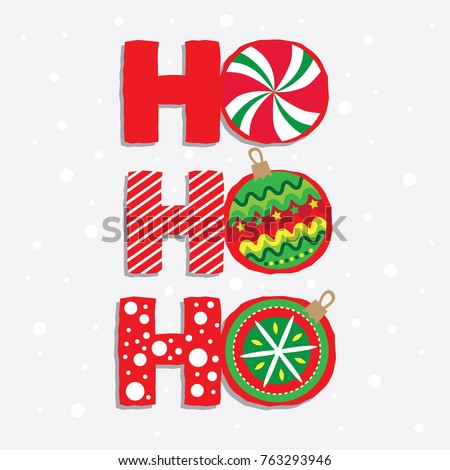 santa say ho ho ho