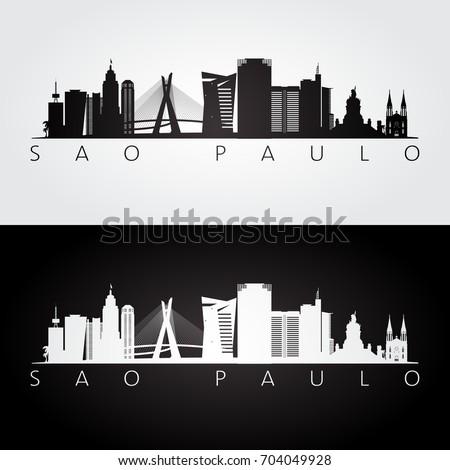 sao paulo skyline and landmarks