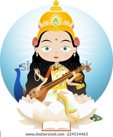 saraswati in hinduism is the