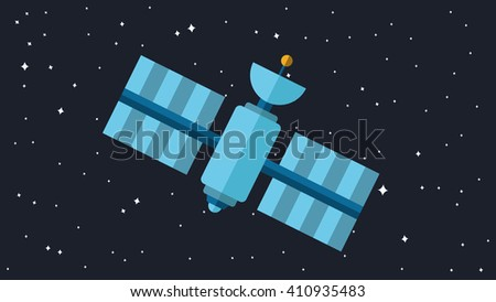 satellite illustration
