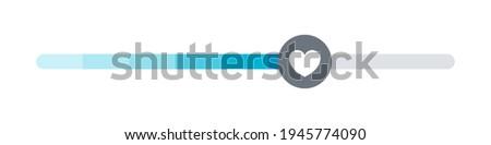 Satisfaction meter. Scale meter. Minimum to Maximum. Vector illustration concept Stock photo ©