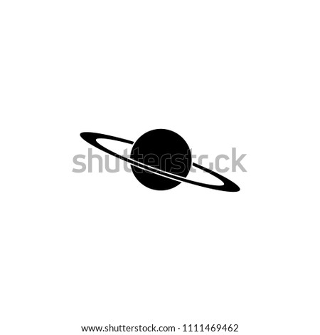 Saturn icon. Element of education icon for mobile concept and web apps. Detailed Saturn icon can be used for web and mobile. Premium icon on white background