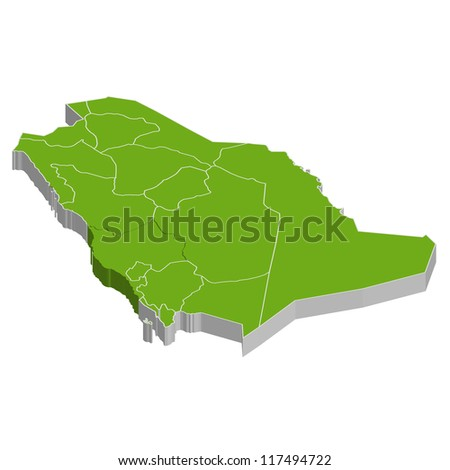 Saudi Arabia - stock vector