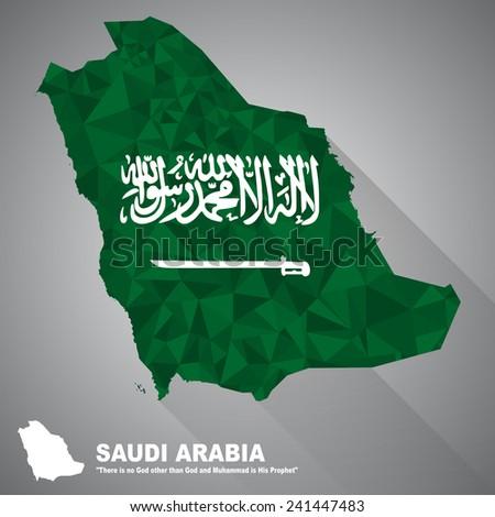Saudi Arabia Map Flag Saudi Arabia Flag Overlay on